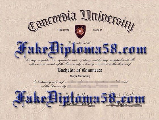 Buy fake Concordia University certificate online_fakediploma58