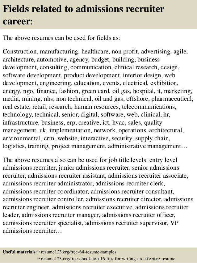 executive recruiter resume executive recruiter resume samples