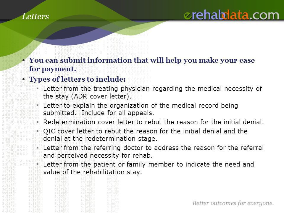 Writing an Appeal Letter - ppt download