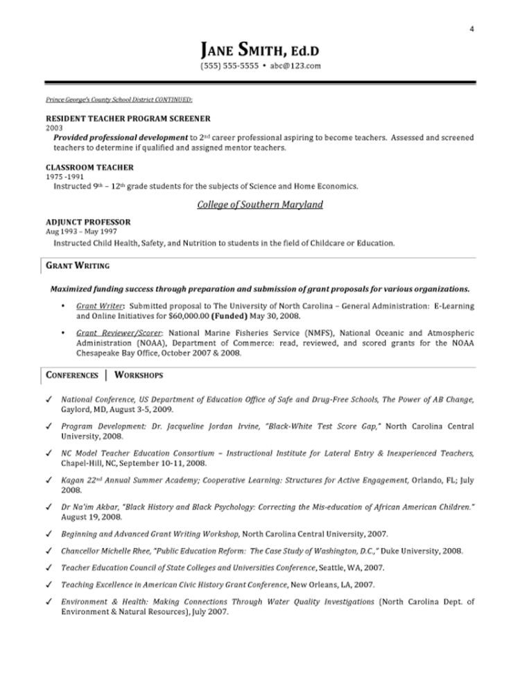 esl teacher resume sample page 1. educational resume template cv ...