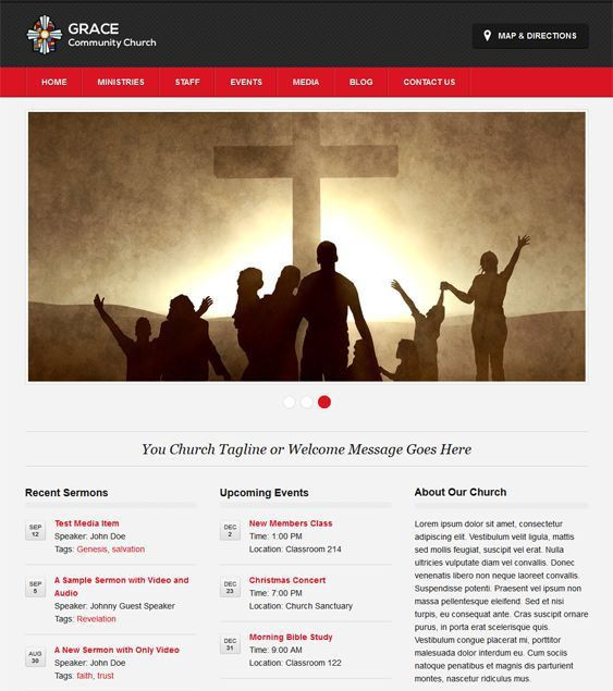 18 best 18 More of the Best Free & Premium Church WordPress Themes ...
