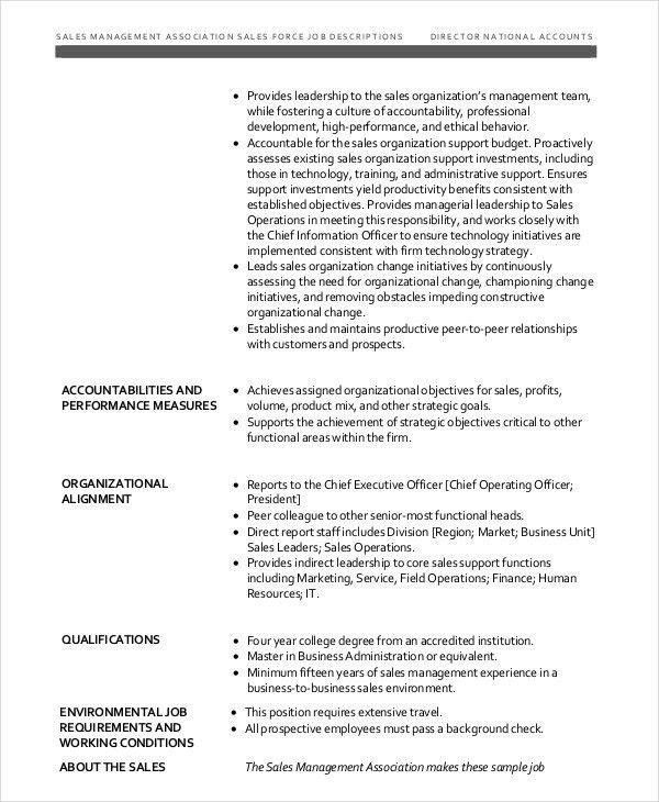 Senior Director Job Description. Senior Art Director Perfomance ...
