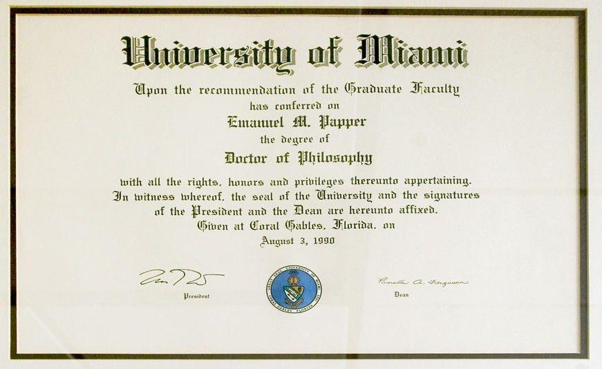 Emanuel M. Papper, M.D., Ph.D. - Biography