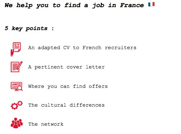 How to find a job in France as an expat partner : 5 key points ...