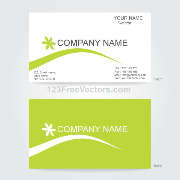 Business Card Template Ai Free | business letter template