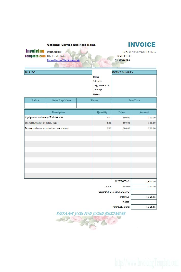 20+ [ Rent Invoice Template Excel ] | Dbs3024 Biz Trx Week 3 ...