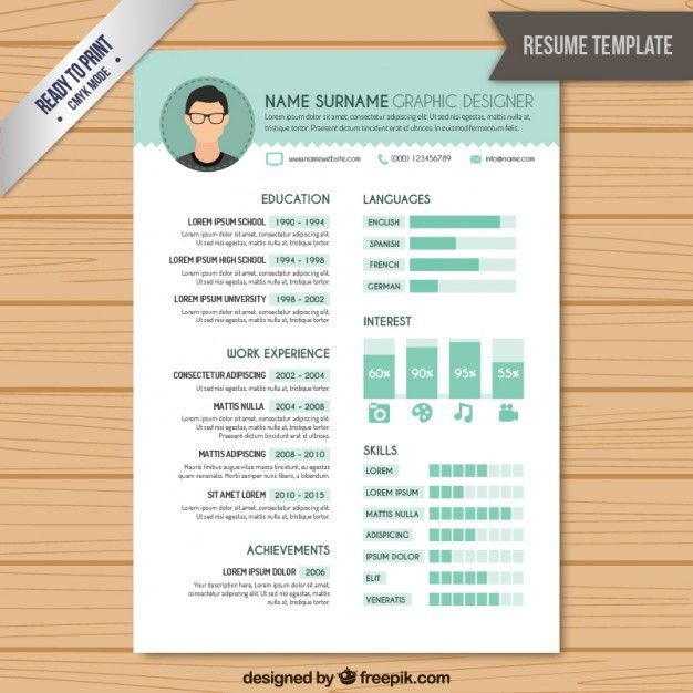 Download Graphic Designer Resume Template | haadyaooverbayresort.com