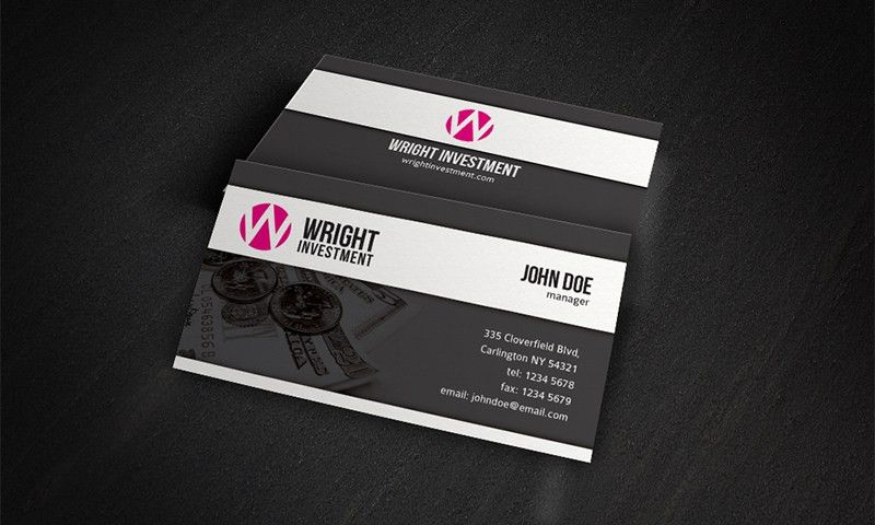 Free Business Card Templates » Accounting, Financial & Investment