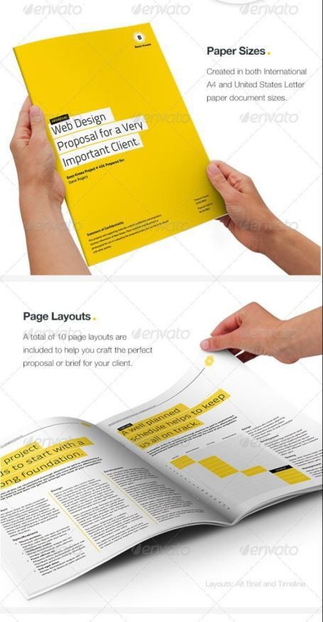 Best PSD, InDesign & MS Word Business Proposal Templates