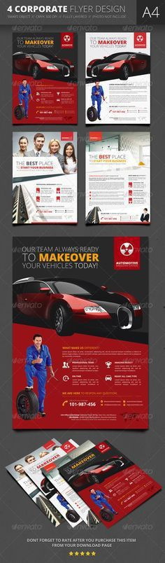 Flyer Design Inspiration Simple Professional corporate flyer ...