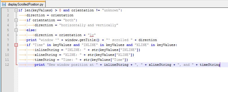 Window Position Event Reactive Script Example - Scripting ...