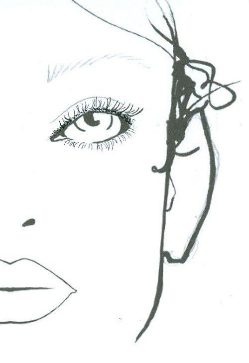 Basso and Brooke, London Fashion Week S/S 2012 | Face charts, Face ...
