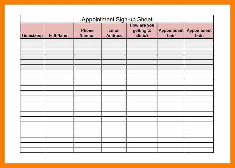 5+ sign in sheet template word | attendance sheet