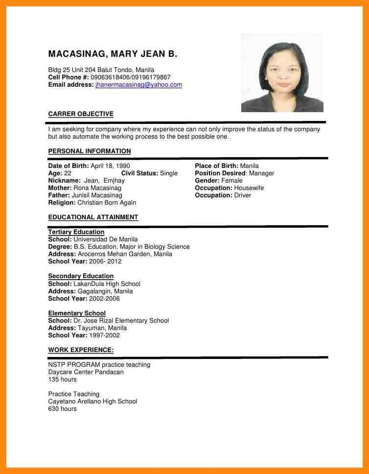 resume sample for job apply sample resume sample resume template
