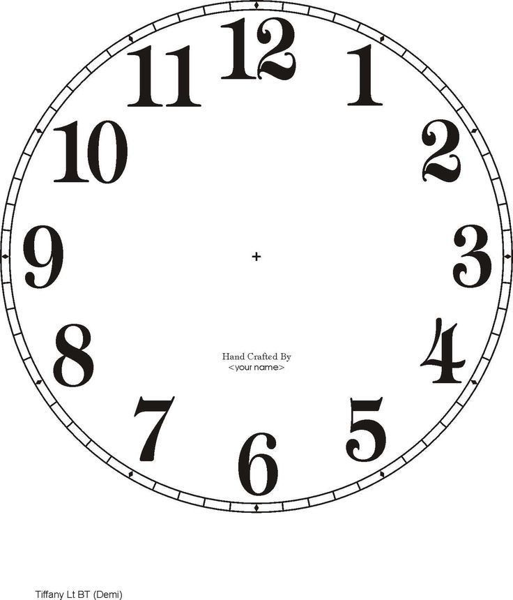 Best 25+ Clock face printable ideas on Pinterest | Wonderland ...