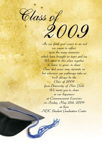 Sample Graduation Invitations - cloveranddot.Com