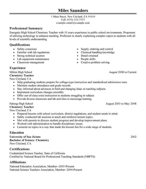 Impactful Professional Education Resume Examples & Resources ...