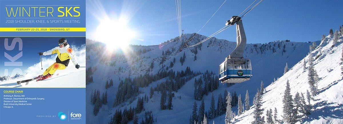 Winter SKS: 2018 Shoulder, Knee, & Sports Meeting - Foundation for ...