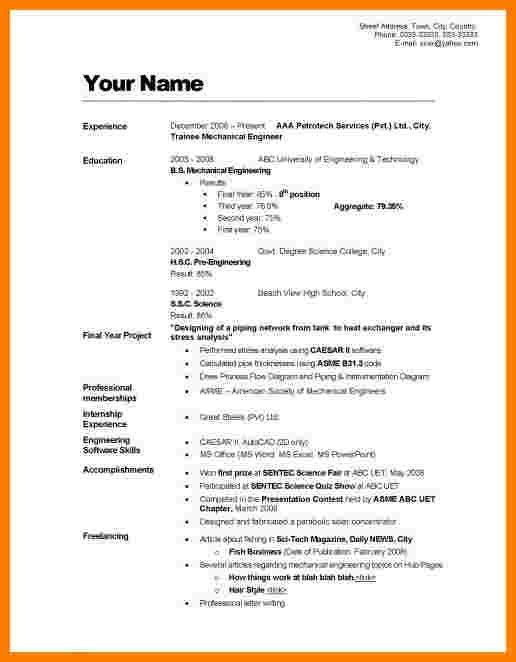 line styling sample 3. how to make a resume format stunning how to ...