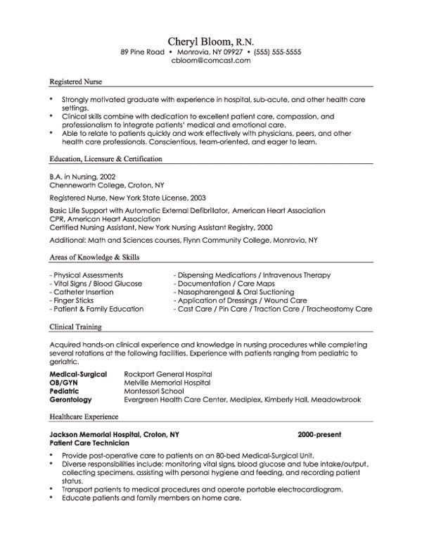 Resume Format Guide