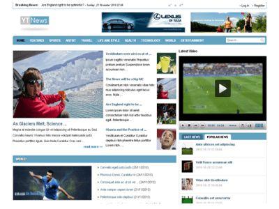JomBoom.COM | Free joomla templates -Yt news - free news/magazine ...