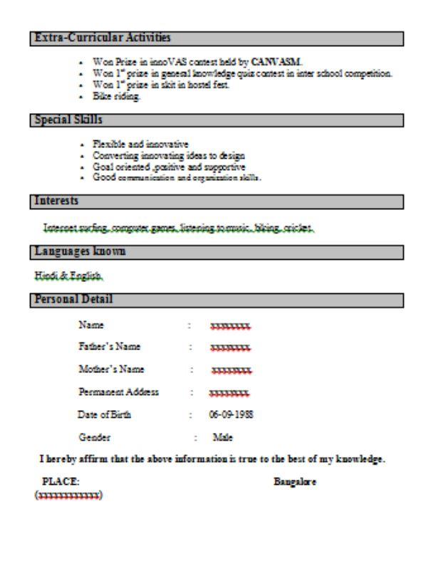 Download Resume For Interview Sample | haadyaooverbayresort.com