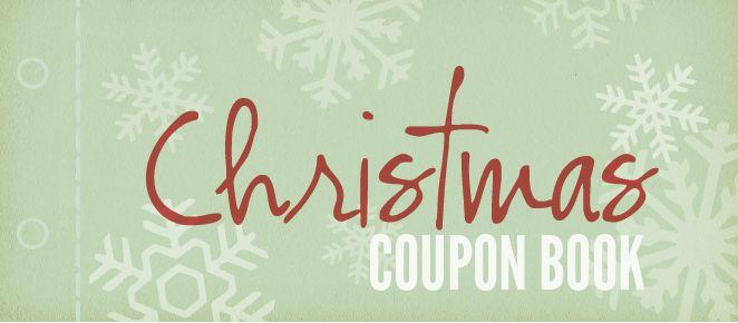Homemade Coupon Book, Free Homemade Christmas Coupon Book ...