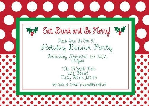 Holiday Party Templates Free. choose from these free christmas ...
