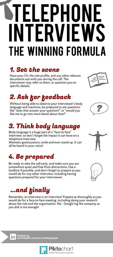 The 25+ best Telephone interview questions ideas on Pinterest ...