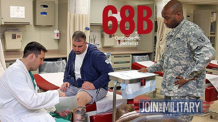 Army MOS 68B Orthopedic Specialist - Joining The Military