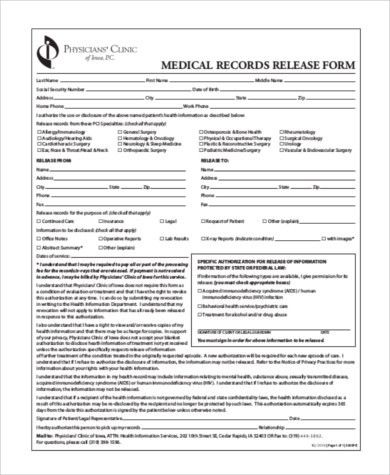Sample General Release Form - 10+ Free Documents in Word, PDF