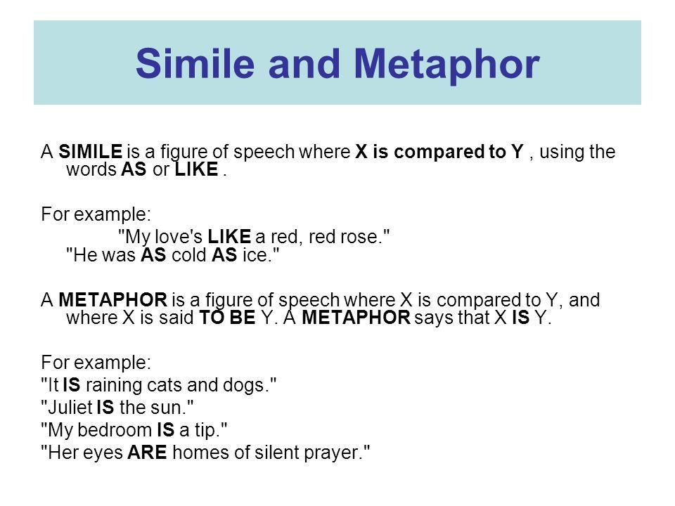 Similes and Metaphors Great Figures of Speech - ppt download