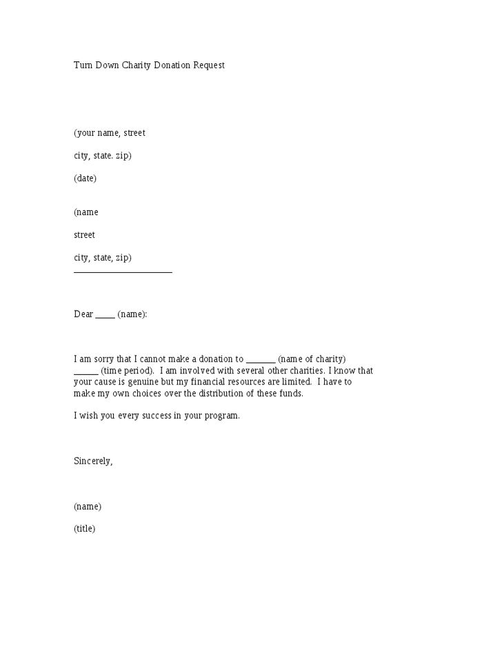 Letter Template For Charity Donation | Cpa Assistant Resume