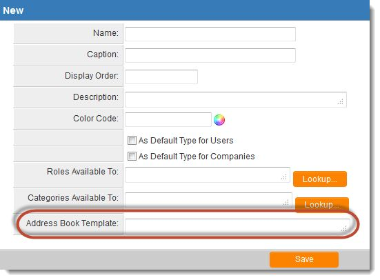 Address Book Template - SmartWiki