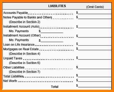6+ personal income statement template | Statement Information