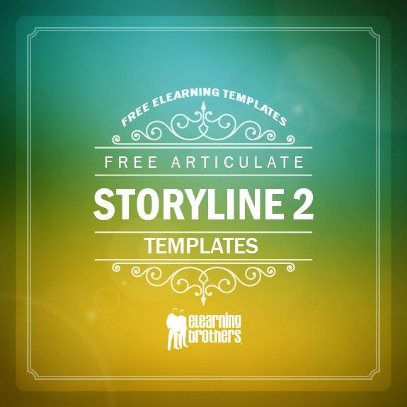 Free Articulate Storyline 2 Templates   eLearning Brothers