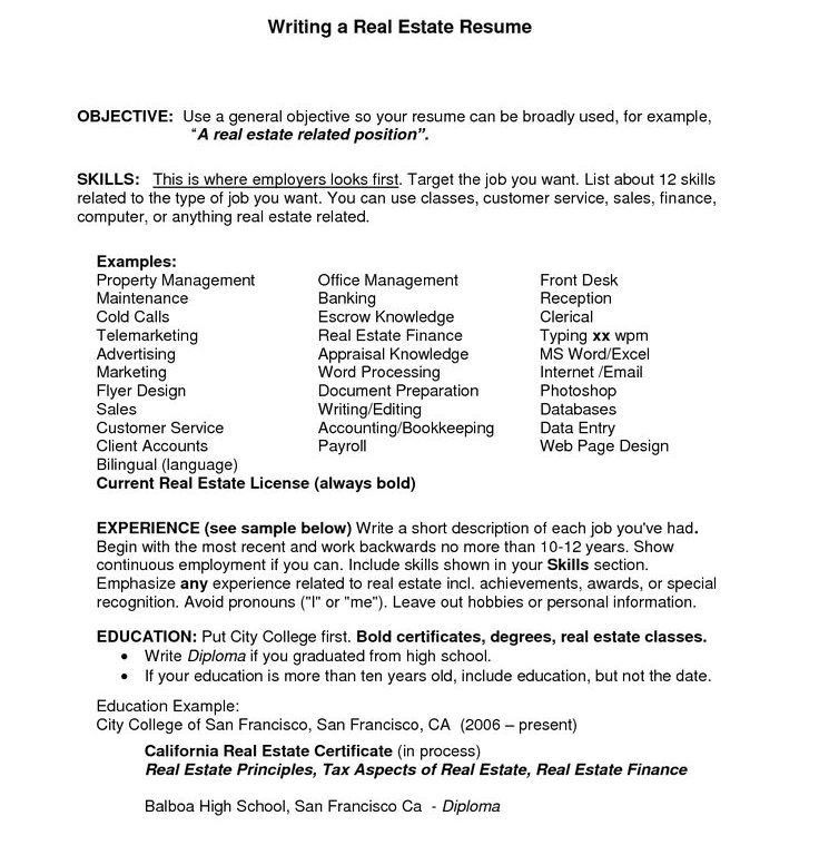 Download General Objectives For Resume | haadyaooverbayresort.com
