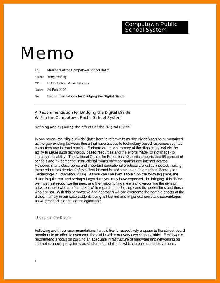 7+ memo template example | addressing letter