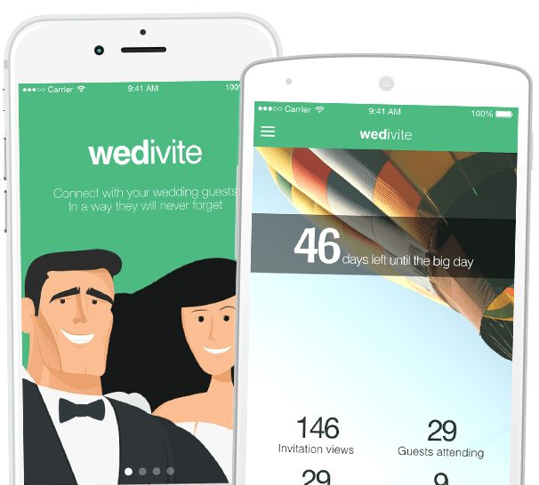 Your FREE Digital & Mobile Wedding Invitation | Wedivite