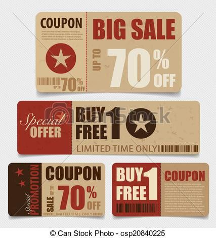 Coupon Illustrations and Clip Art. 58,874 Coupon royalty free ...