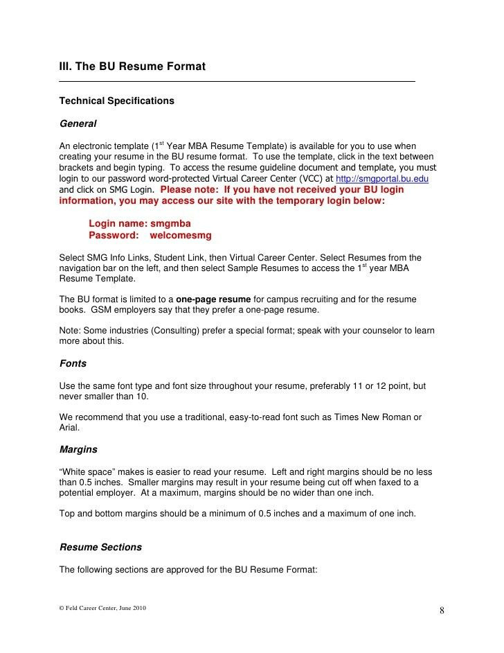 sample mba resume resume cv cover letter. mba resume format ...