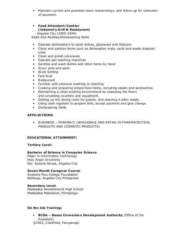 Cecile resume
