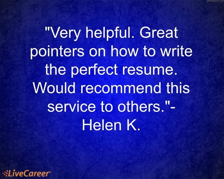 28+ [ Career Perfect Resume Service Review ] | Career Resources ...