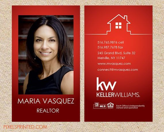 Real Estate Agent Card examples: a collection of ideas to try ...