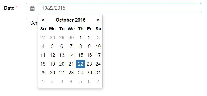 Tutorial: Add a Date Picker to a Bootstrap Form | Formden.com
