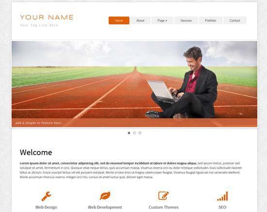 70+ Free Bootstrap HTML5 Website Templates 2017 - freshDesignweb