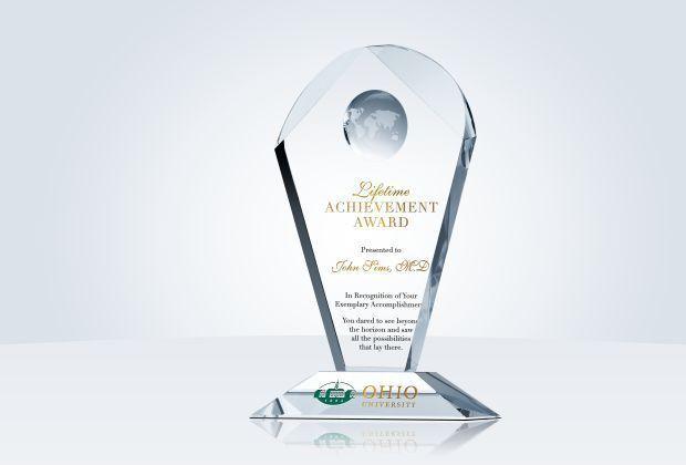 Geodesic Lifetime Achievement Award - Crystal Central