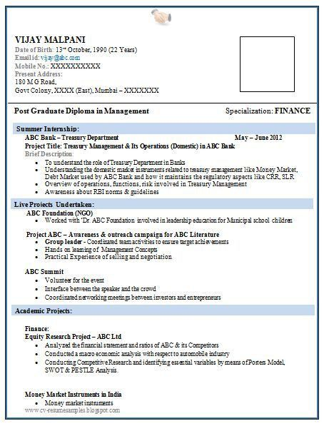 Freshers Pharmacy Resume Format - http://www.resumecareer.info ...