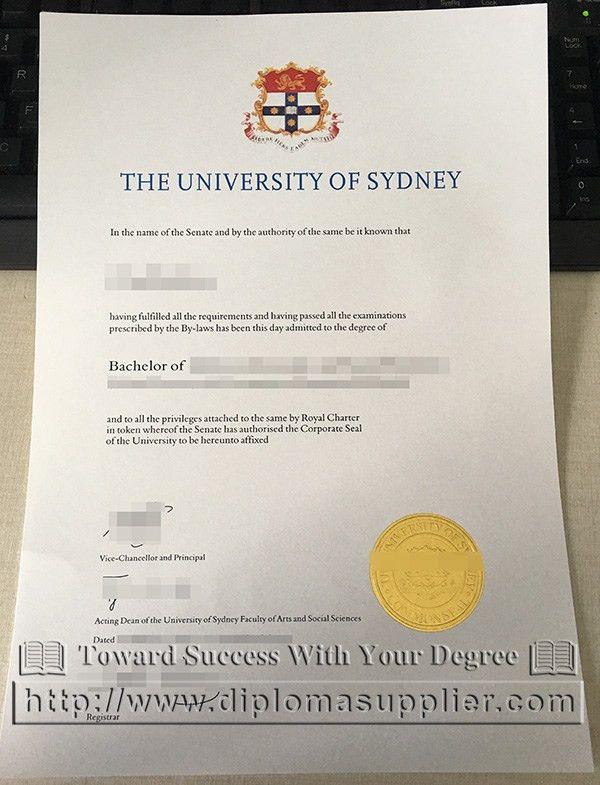 University of Sydney degree, University of Sydney diploma, buy ...