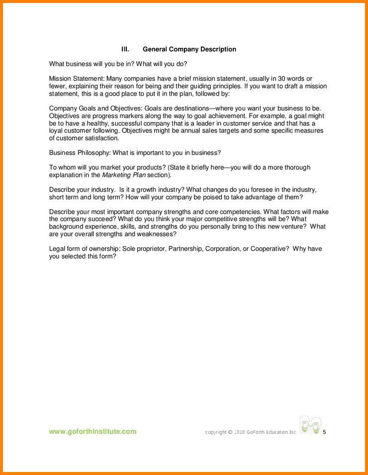 7+ business description sample | attorney letterheads